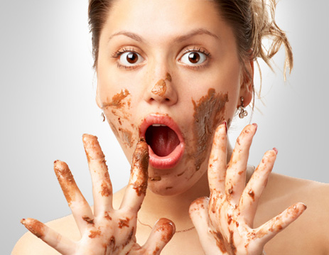 crazy-woman-eating-chocolate